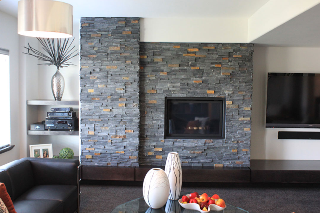 Trends in tile for Stonecraft fireplaces