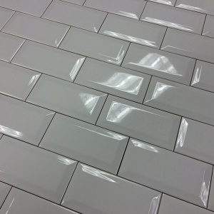 "3"" x 6"" Chess Bevel Field Tile"