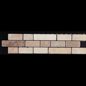 """3"""" x 12"""" Stone Listello Deco"""