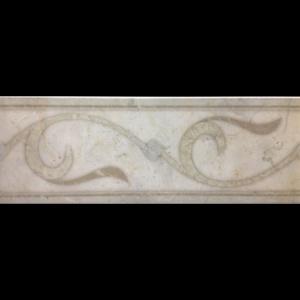 """6"""" x 18"""" Louvre Deco Marengo Liner"""