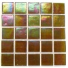"5/8"" x 5/8"" Platinum Honey Mist Mosaic"