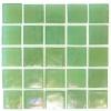 "5/8"" x 5/8"" Platinum Pastel Green Mosaic"