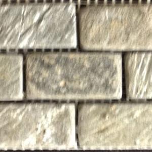 """1"""" x 2"""" Green Slate Mosaic"""