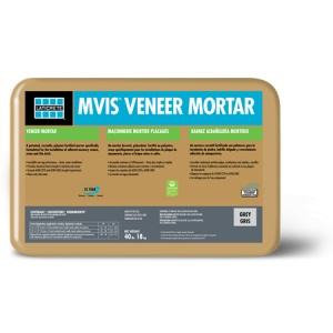 Veneer Mortar Installation