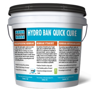 Hydro Ban Quick Cure Installation