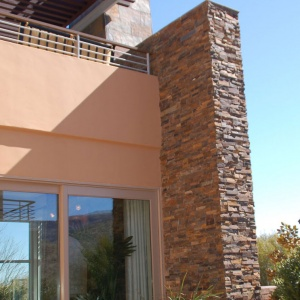 Ledgestone Panel Installation