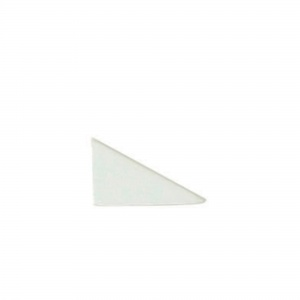"""1"""" x 2"""" Triangle Half Deco"""