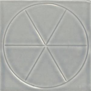 """4"""" x 4"""" Pie Field Tile"""