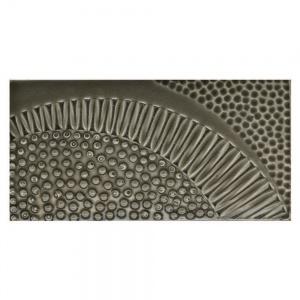 "3"" x 6"" Radial Bead Field Tile"
