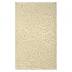 """4"""" x 7"""" Tooled Leather Field Tile"""