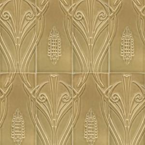 """4"""" x 9"""" Avalon 2 Piece Pattern Field Tile"""