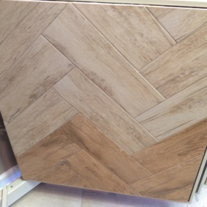 Almond / Red - Grouted Panel Wing