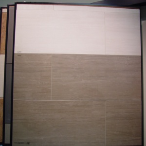GeoWhite/ GeoGrey Matte - Grouted Panel Wing