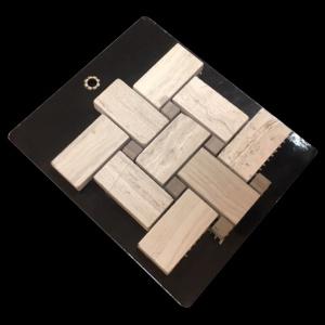 1 x 2 Basket Weave - Mosaic Cards