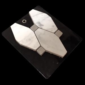 Polished Oxford w/ shy grey - Mosaic Cards