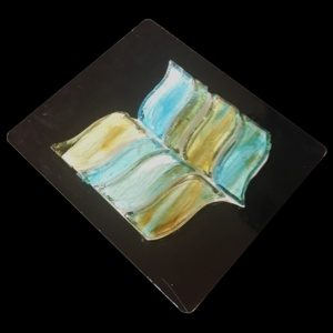 Blue Wisteria SN0270 - Mosaic Cards