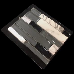 Bianco Carrara Black - Mosaic Cards