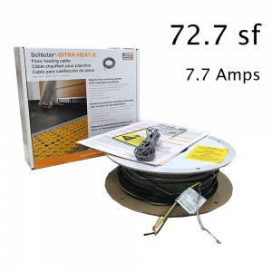 72.7 SF Heat Cable