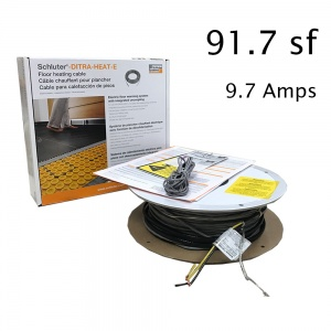 91.7 SF Heat Cable