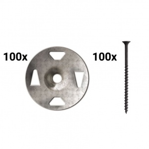 Screw/Washer Combo - 100 Each