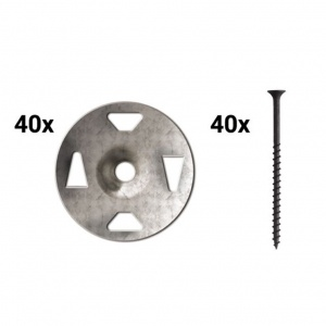 Screw/Washer Combo - 40 Each
