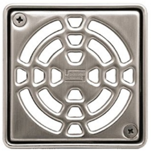 "4"" Stainless Steel Square (E)"" Drain"