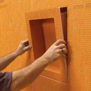 Kerdi Niche Installation