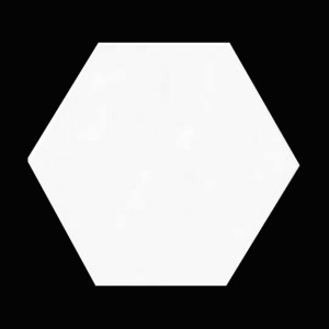 Super White Hexagon