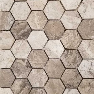 "2"" Hexagon Mosaic"