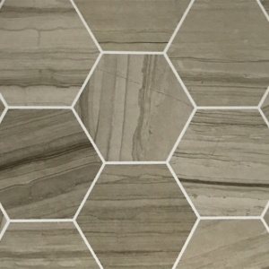 "6"" Hexagon Field Tile"