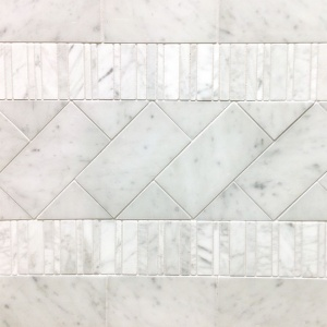 Bianco Gioia Marble Installation