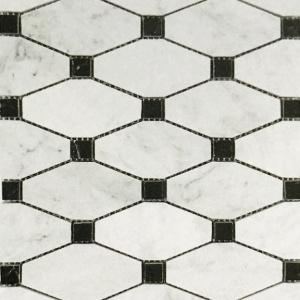 Oxford w/ Nero Marquina Mosaic