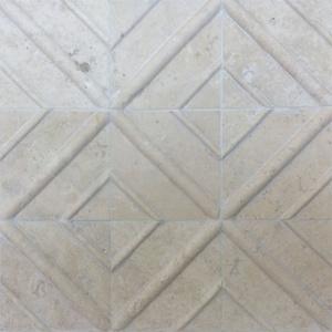 """4"""" x 4"""" Crisscross Field Tile"""