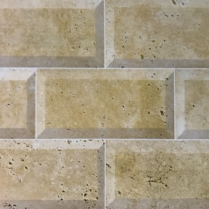 "3"" x 6"" Beveled Field Tile"