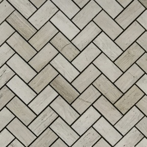 "1"" x 2"" Honed Herringbone Mosaic"