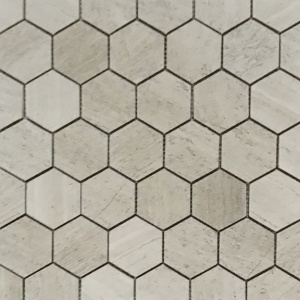 "2"" Honed Hexagon Mosaic"