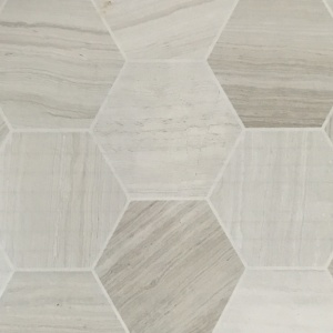 "6"" Honed Hexagon Field Tile"