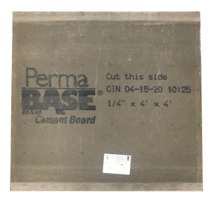 Permabase Installation
