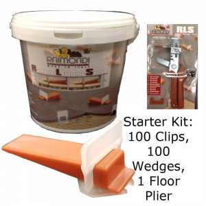 Starter Kit - 100 Sets with Floor Tool