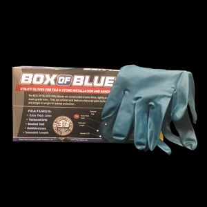 Blue Gloves Installation